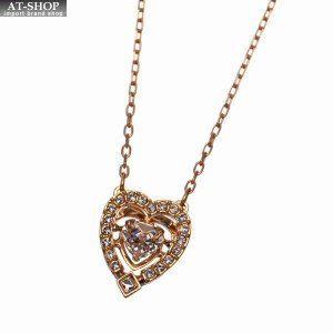 SWAROVSKI スワロフスキー ネックレス ペンダント Sparkling Dance Heart Necklace 5284188|at-shop