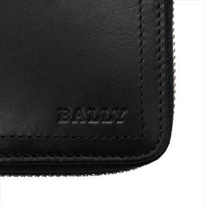 BALLY バリー 財布サイフ ラウンドファスナー長財布 TALEN 290 BLACK 6206815 ブラック|at-shop|03