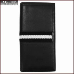 BALLY バリー 財布サイフ 二つ折り長財布 TALIRO カラー290 BLACK 6166474001 ブラック|at-shop