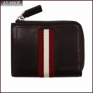 BALLY バリー 財布サイフ ファスナー小銭入れ TEKAR カラー271 CHOCOLATE 6206800 ブラウン|at-shop