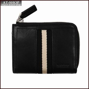 BALLY バリー 財布サイフ ファスナー小銭入れ TEKAR カラー290 BLACK  6206801 ブラック|at-shop