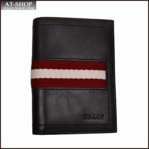 BALLY バリー カードケース 名刺入れ TIANSON 271 CHOCOLATE 6181892 ブラウン|at-shop