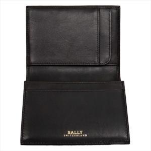 BALLY バリー カードケース 名刺入れ TIANSON 271 CHOCOLATE 6181892 ブラウン|at-shop|03