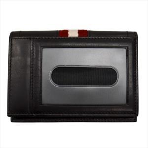 BALLY バリー カードケース 名刺入れ TIANSON 271 CHOCOLATE 6181892 ブラウン|at-shop|05