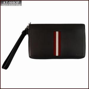 BALLY バリー 財布サイフ TINGER 6208237 CHOCOLATE トラベルウォレット チョコ|at-shop