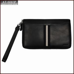 BALLY バリー 財布サイフ TINGER 6208238 BLACK トラベルウォレット ブラック|at-shop