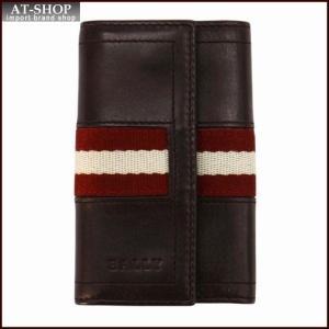 BALLY バリー キーケース TUTO カラー271 CHOCOLATE 6168839 ブラウン|at-shop