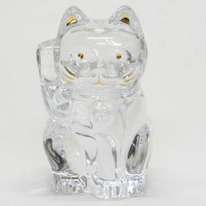 Baccarat バカラ 招き猫 LUCKY CAT クリスタルガラス クリア 2607786 at-shop