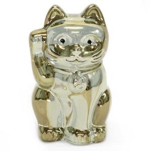 Baccarat バカラ 招き猫 LUCKY CAT クリスタルガラス ゴールド 2612997 at-shop