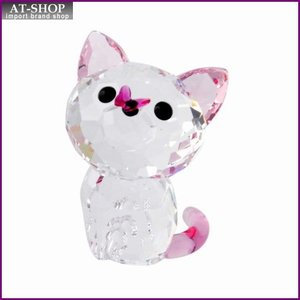 スワロフスキー SWAROVSKI 5223597 Kitten - Millie キュートな子猫シリーズ アメリカンショートヘア 「ミーリー」 クリスタル フィギュア 置物|at-shop
