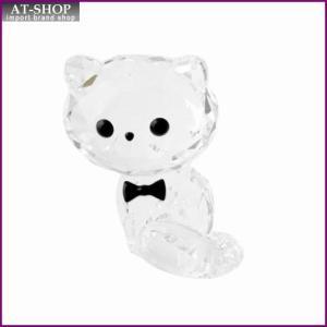 スワロフスキー SWAROVSKI 5223600 キュートな子猫シリーズ ペルシャネコ 「コーネリアス」 クリスタル フィギュア 置物|at-shop