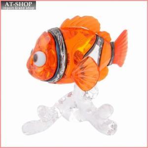 スワロフスキー SWAROVSKI 5252051 Disney Nemo ディズニー ファインディング・ドリー 「ニモ」 カクレクマノミ クリスタル フィギュア 置物|at-shop