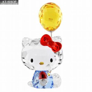 スワロフスキー SWAROVSKI 5301578 ハローキティ 「バルーン」 クリスタルフィギュア 置物 Hello Kitty Balloon|at-shop