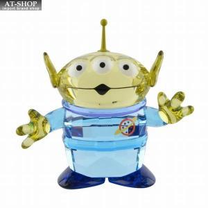 スワロフスキー SWAROVSKI 5428575 ディズニー トイ・ストーリー  「エイリアン」 クリスタル フィギュア 置物 Disney Toy Story Alien|at-shop