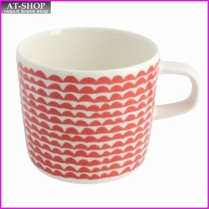マリメッコ marimekko 067493 130 white/red PAPAJO GLOGG CUP 200ml グロッギカップ コーヒーカップ|at-shop