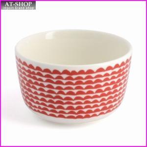 マリメッコ marimekko 067494 130 white/red PAPAJO BOWL250ml ボウル|at-shop