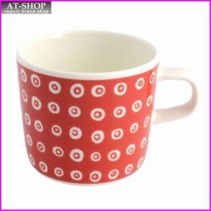 マリメッコ marimekko 067509 310 red/white KARAKOLA GLOGG CUP 200ml グロッギカップ コーヒーカップ|at-shop
