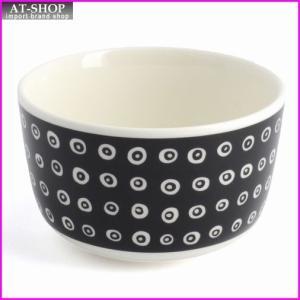 マリメッコ marimekko 067511 910 black/white KARAKOLA BOWL 250ml ボウル|at-shop