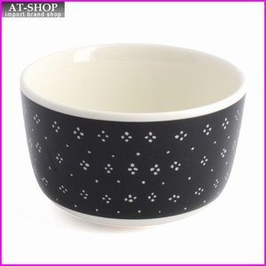 マリメッコ marimekko 067512 910 black/white MUIJA BOWL 250ml ボウル|at-shop