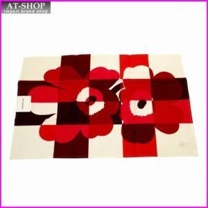 マリメッコ marimekko 067476 130 white/red/pink RUUTU-UNIKKO TEA TOWEL ティータオル キッチンクロス|at-shop