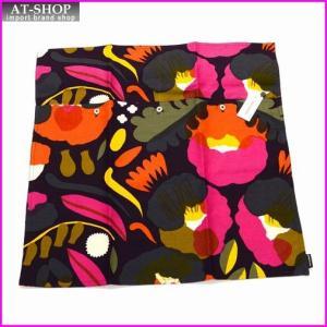マリメッコ marimekko 067458 430 blum/red/yellow HATTARAKUKKA C. COVER 50X50cm クッションカバー|at-shop