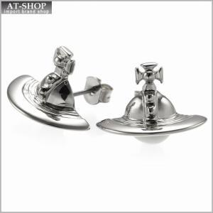 ヴィヴィアンウエストウッド Vivienne Westwood 724499B 1 ピアス SOLID ORB EARRINGS SILVER *|at-shop