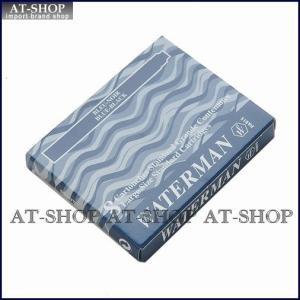 WATERMAN ウォーターマン 万年筆 インク カートリッジ 8本セット ブルーブラック