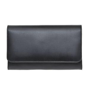 White house Cox ホワイトハウス コックス 財布 サイフ メンズ 二つ折り長財布 小銭入れ付き S1084-BLACK ブラック|at-shop