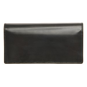 White house Cox ホワイトハウスコックス 財布 サイフ メンズ 二つ折り長財布 小銭入れ付き SR-1814 ブラック|at-shop