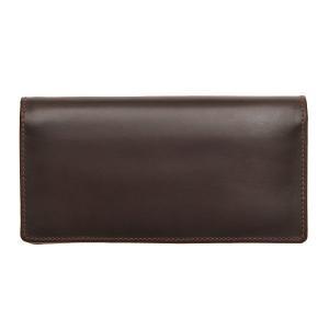 White house Cox ホワイトハウスコックス 財布 サイフ メンズ 二つ折り長財布 小銭入れ付き SR-1814 ハバナ|at-shop