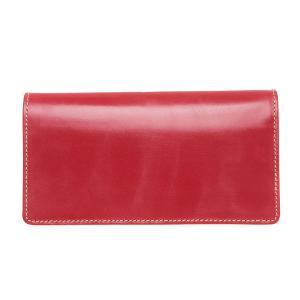 White house Cox ホワイトハウスコックス 財布 サイフ メンズ 二つ折り長財布 小銭入れ付き SR-1814 レッド|at-shop