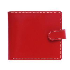 White house Cox ホワイトハウスコックス 財布 サイフ メンズ ベルトホック 三つ折り財布 SR-1816 RED レッド|at-shop