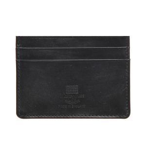 White house Cox ホワイトハウスコックス メンズ カードケース SR 2139 BLACK ブラック|at-shop