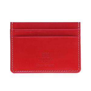 White house Cox ホワイトハウスコックス メンズ カードケース SR 2139 RED レッド|at-shop