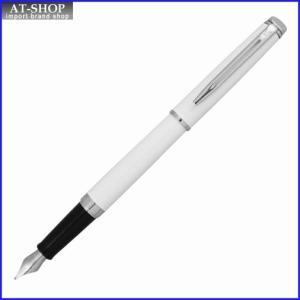 WATERMAN ウォーターマン 万年筆 メトロポリタンエッセンシャル ホワイトCT ペン先 F:細字 wm1087f S2259132 at-shop