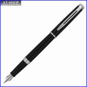 WATERMAN ウォーターマン 万年筆 メトロポリタンエッセンシャル ブラックCT ペン先 F:細字 wm1093f S2259122 at-shop