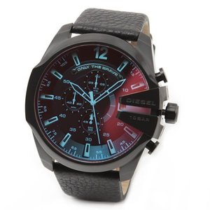 DIESEL ディーゼル 腕時計 ホログラム・クリスタル クロノグラフ・ウオッチ DZ4323 at-shop