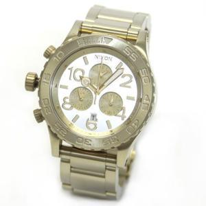 NIXON ニクソン 腕時計 シャンパンゴールド・クロノグラフ・ウオッチ A037-1219 at-shop
