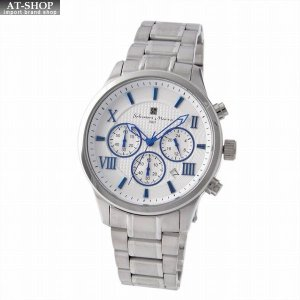 サルバトーレ・マーラ Salvatore Marra SM15102-SSWHBL  メンズ クロノグラフ 腕時計|at-shop