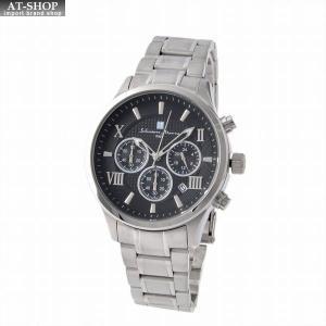 サルバトーレ・マーラ Salvatore Marra SM15102-SSBKSV  メンズ クロノグラフ 腕時計|at-shop
