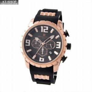 サルバトーレ・マーラ Salvatore Marra SM15107-PGBK  メンズ クロノグラフ 腕時計|at-shop