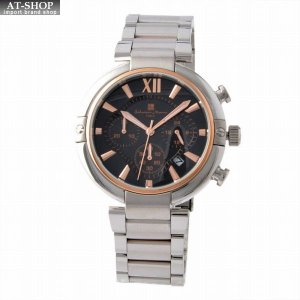 サルバトーレ・マーラ Salvatore Marra SM17106-PGBK  メンズ クロノグラフ 腕時計|at-shop