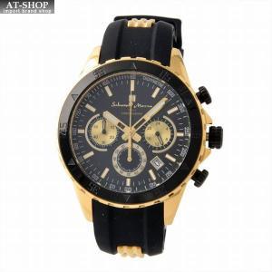 サルバトーレ・マーラ Salvatore Marra SM17112-GDBK  メンズ クロノグラフ 腕時計|at-shop