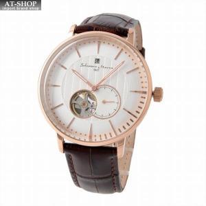 サルバトーレ・マーラ Salvatore Marra SM17114-PGWH  メンズ 自動巻き 腕時計|at-shop