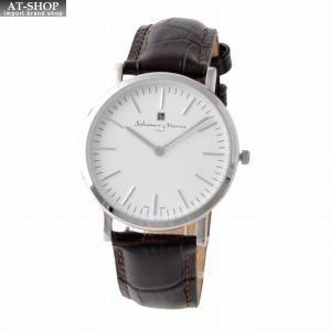 サルバトーレ・マーラ Salvatore Marra SM17109-SSWH/2  メンズ 腕時計 替えベルト(2種)付|at-shop