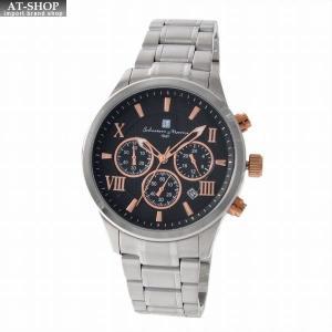 サルバトーレ・マーラ Salvatore Marra SM15102-SSBKPG  メンズ クロノグラフ 腕時計|at-shop