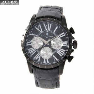 サルバトーレ・マーラ Salvatore Marra SM15103-BKBK  メンズ クロノグラフ 腕時計|at-shop
