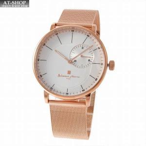 サルバトーレ・マーラ Salvatore Marra SM17105M-PGSV  メンズ 腕時計|at-shop