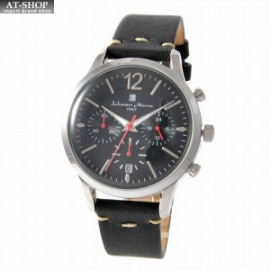 サルバトーレ・マーラ Salvatore Marra SM17110-SSBK  メンズ クロノグラフ 腕時計|at-shop