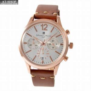 サルバトーレ・マーラ Salvatore Marra SM17110-PGWH  メンズ クロノグラフ 腕時計|at-shop